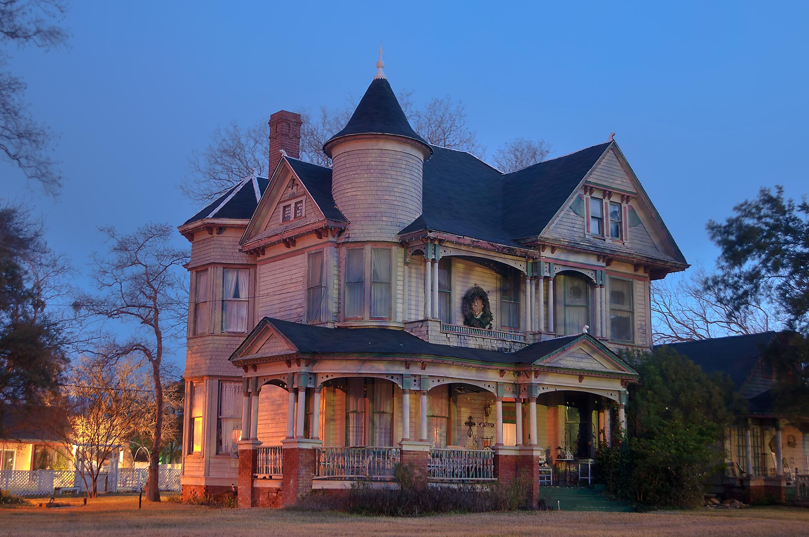 The Bird's Nest house (Samuels family-Cyndi Bird...of South Pine street. Calvert, Texas