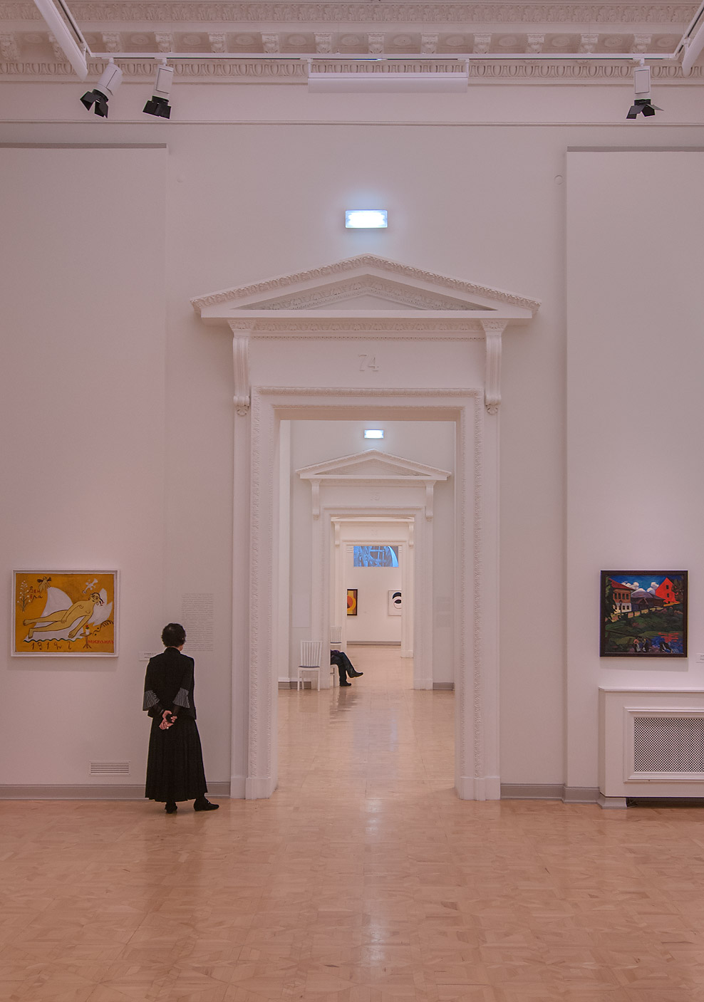 Room No. 74 in Benois Wing of Russian Museum. St.Petersburg, Russia