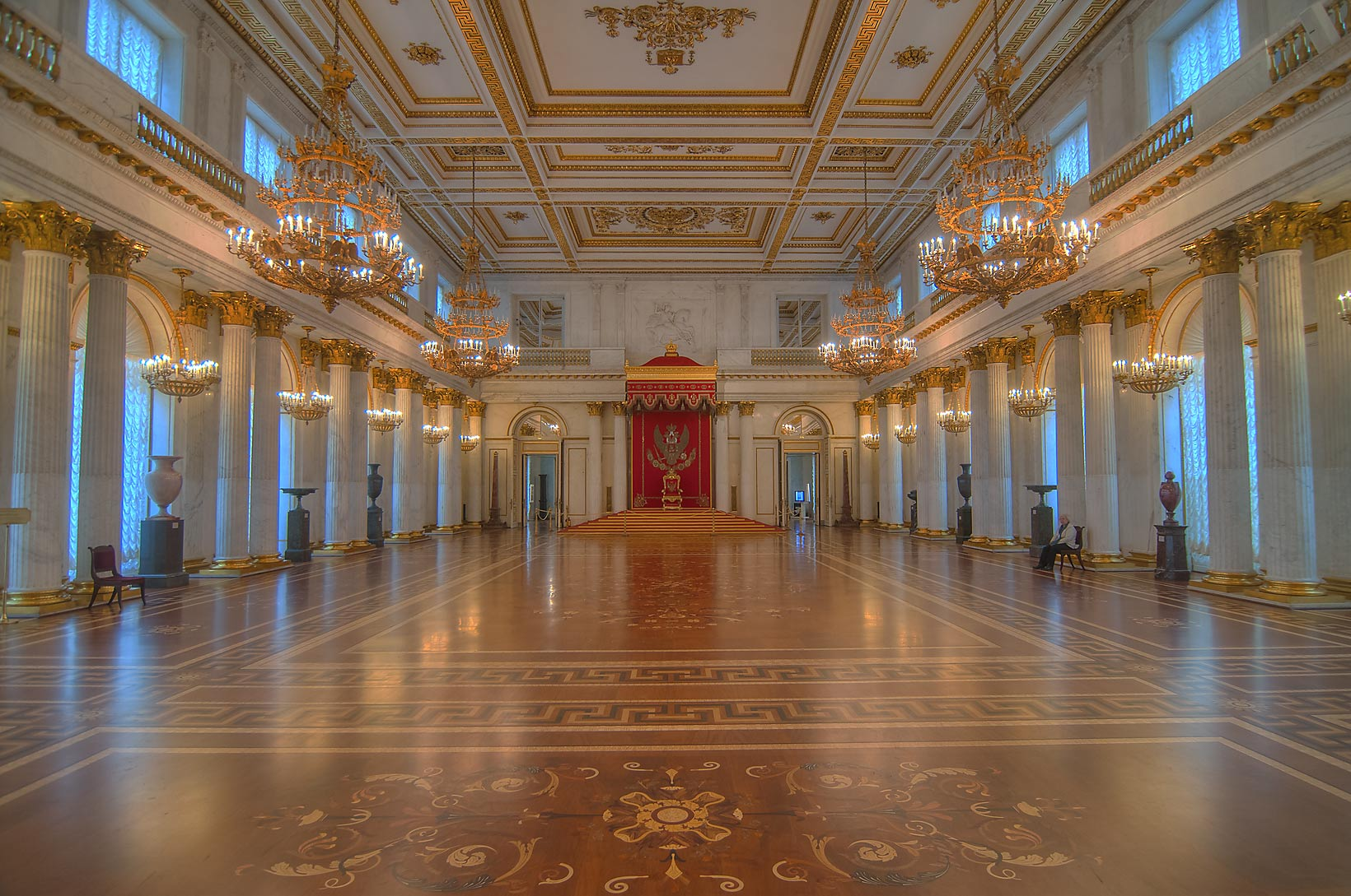 Foyer Museum : Throne hall search in pictures