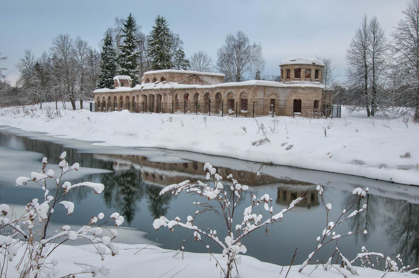 Paultry Farm in the park of Gatchina, suburb of St.Petersburg, Russia