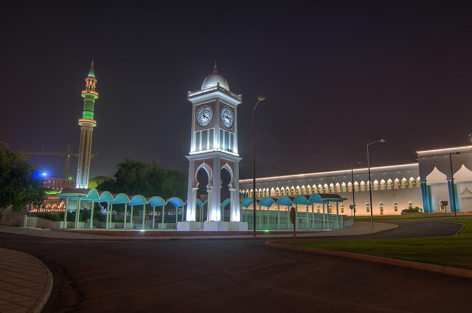 Photo 1168 07 clock tower and amiri diwan emir 39 s palace for Diwan amiri qatar