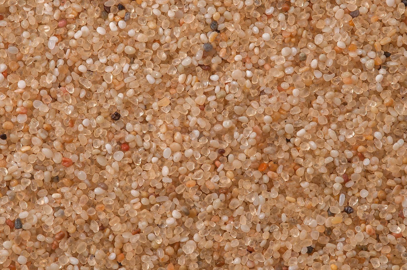 Rounded and well sorted eolian sand on a crest of...Mesayeed, south-west from Doha. Qatar