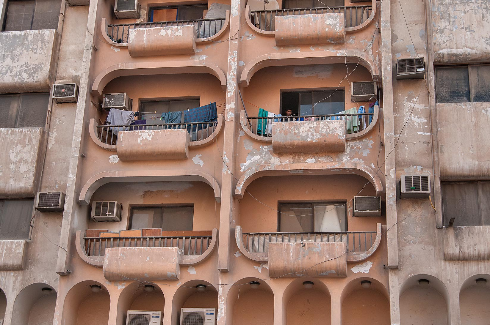 Old Arched Apartments On Abdullah Bin Thani .