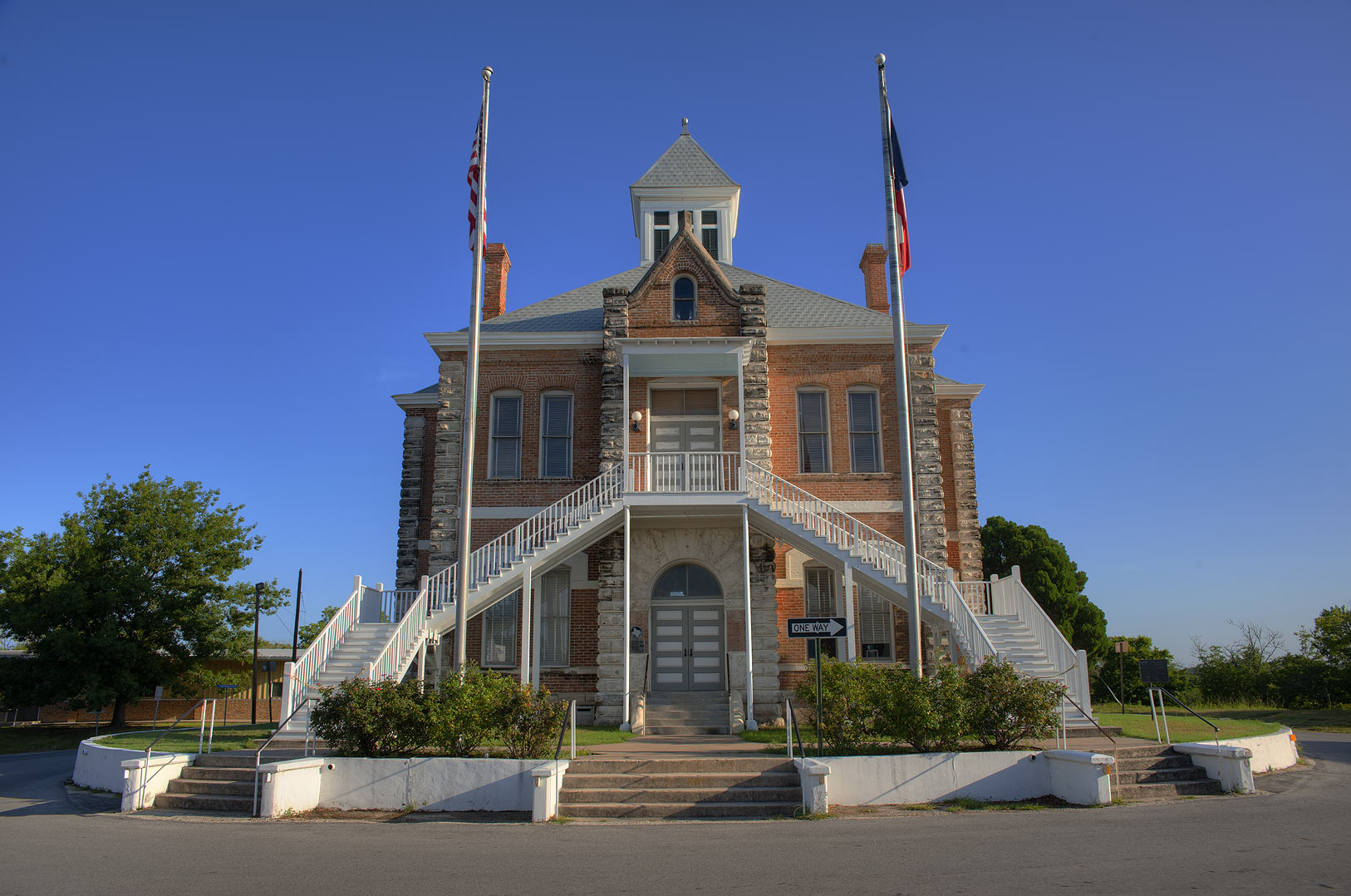 Grimes County Courthouse. Anderson, Texas