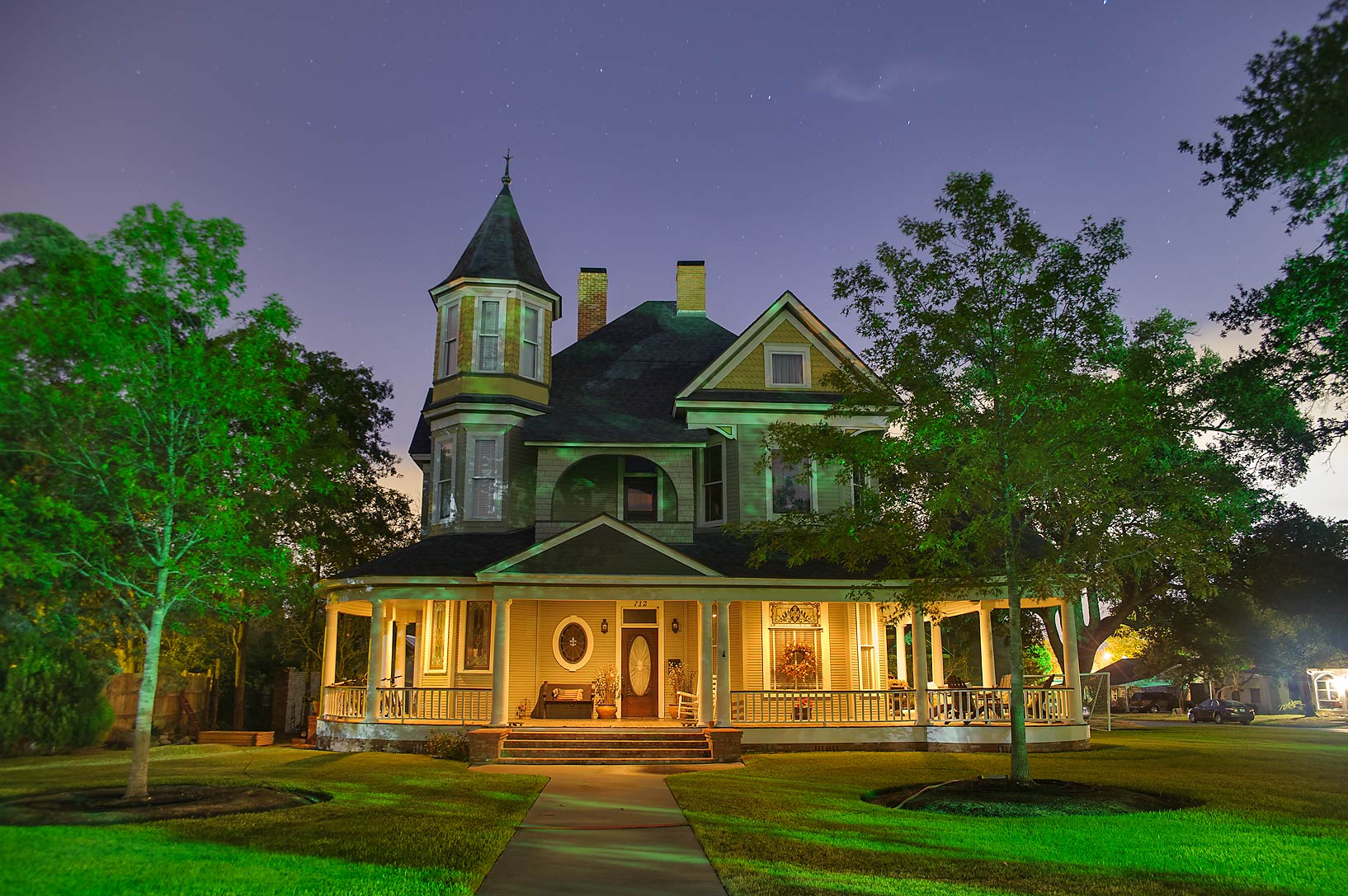 McMichael-Wilson House (1904) at 712 East 30th St.. Bryan, Texas