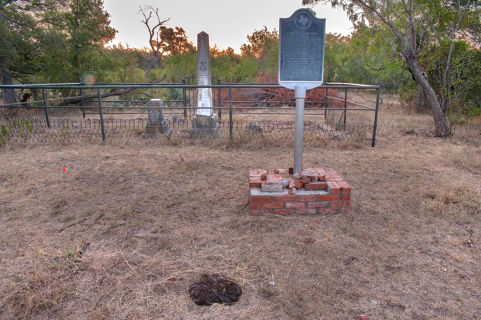 College Station-Calvert, Texas  - Sterling Cemetery near Calvert, Texas
