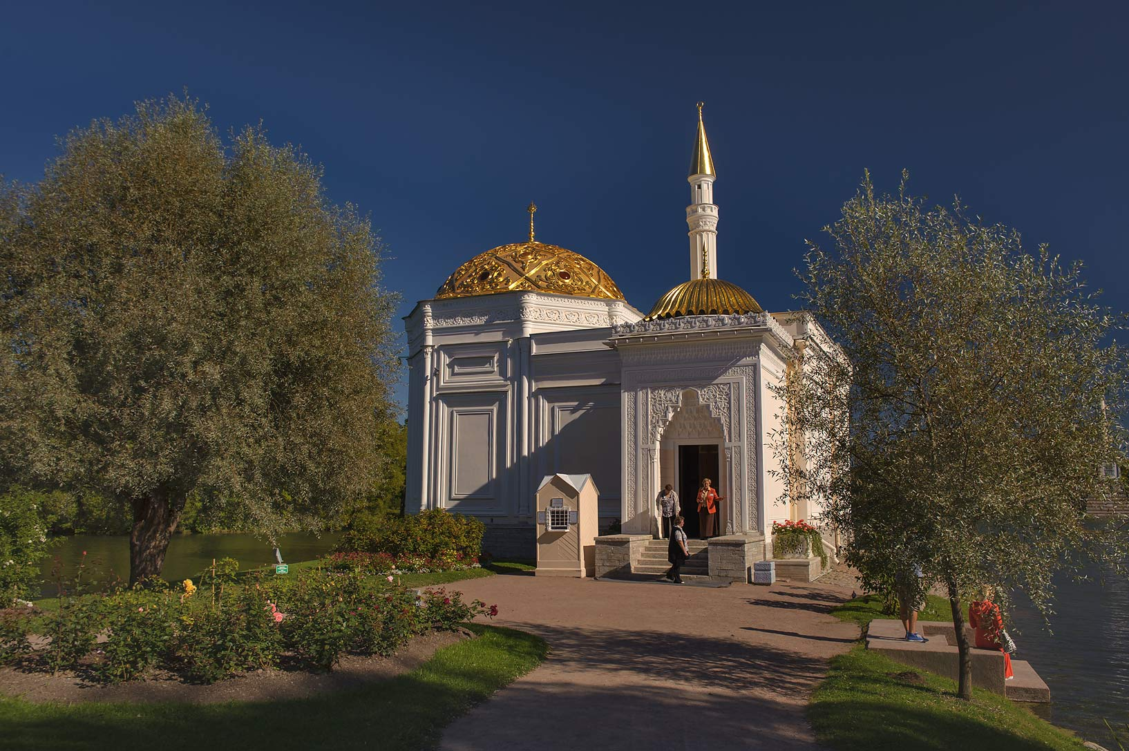 Turkish Bath in Ekaterininsky (Catherine) Park of...a suburb of St.Petersburg. Russia