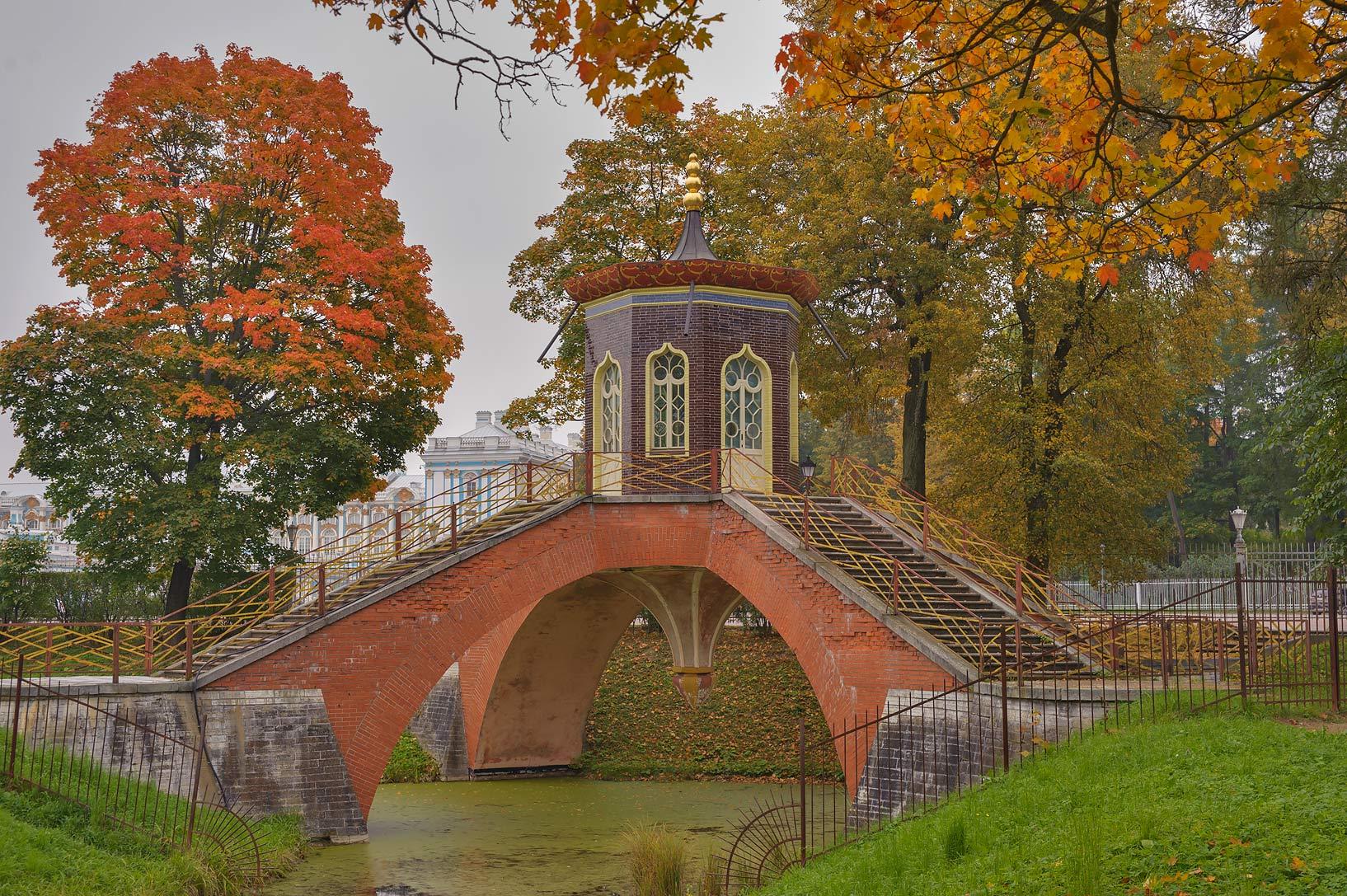 Photo 1272-23: Krestovy Bridge in Aleksandrovsky ...