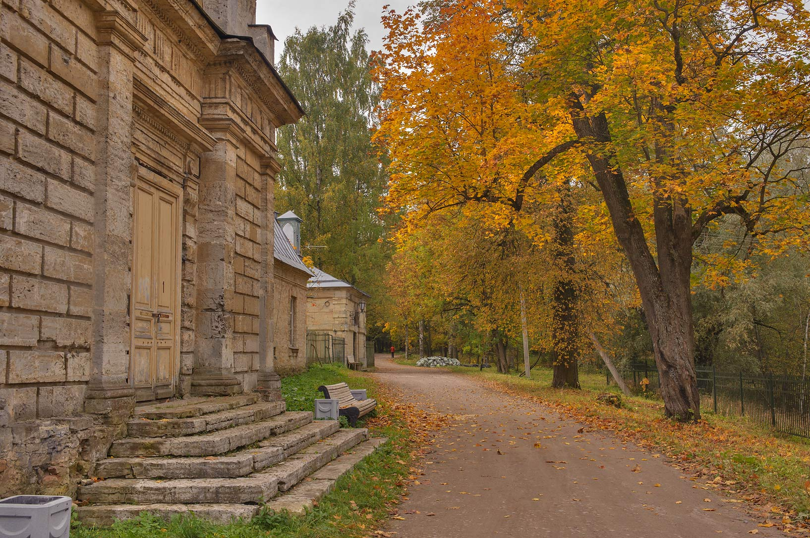 The Farm (Ferma) in Gatchina, a suburb of St.Petersburg. Russia