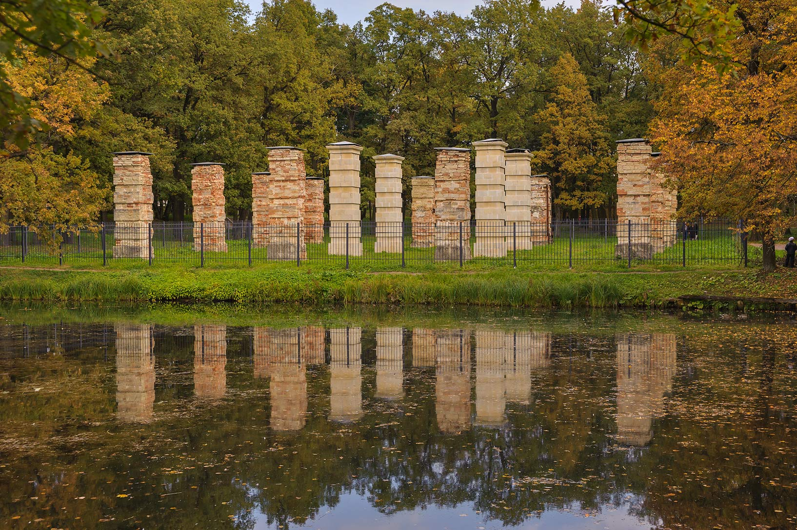 Ruins of Admiralty (Holland) in Gatchina, a suburb of St.Petersburg. Russia
