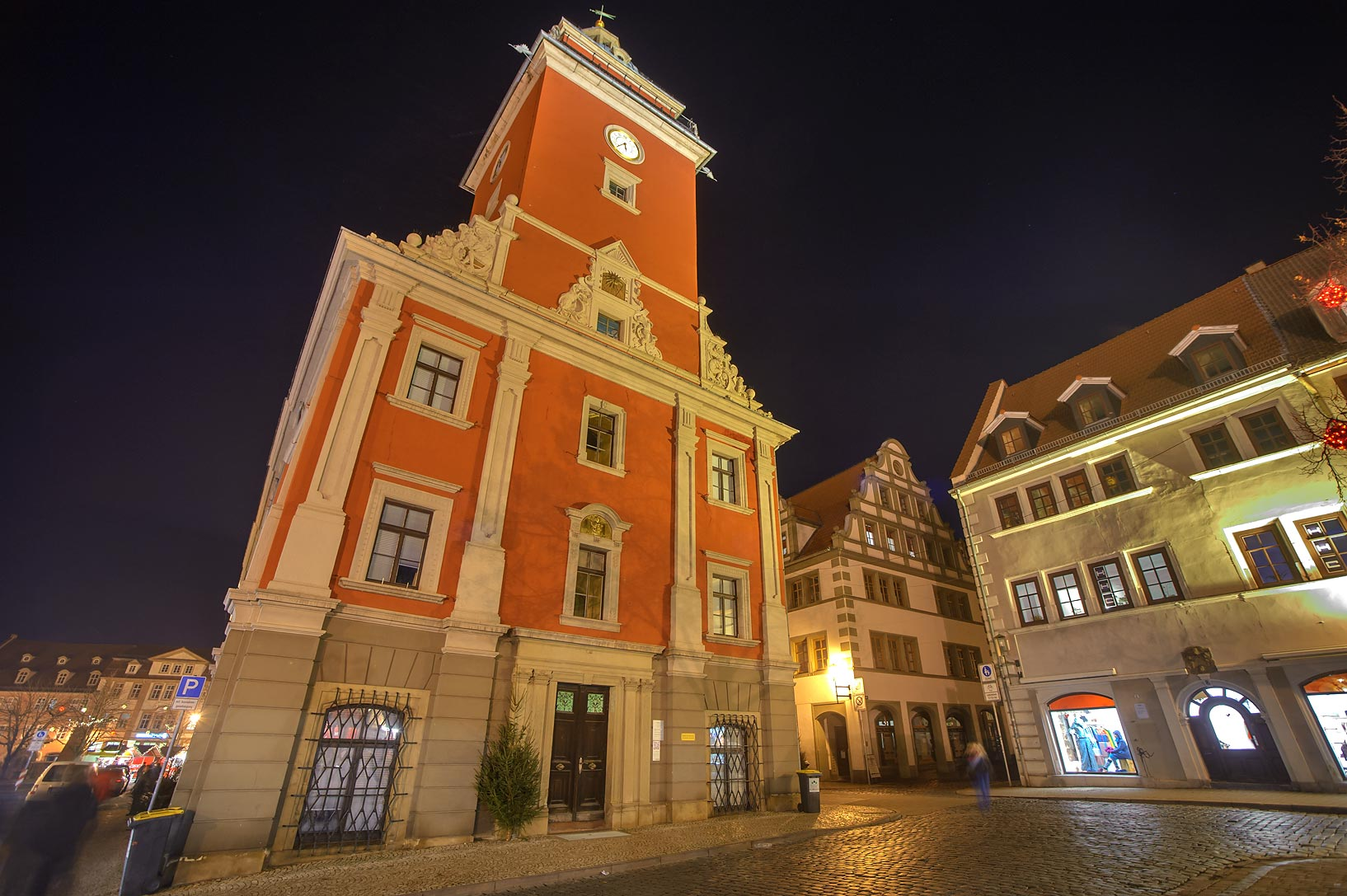 Gotha - Eisenach, Germany  - Old city hall. Gotha, Germany