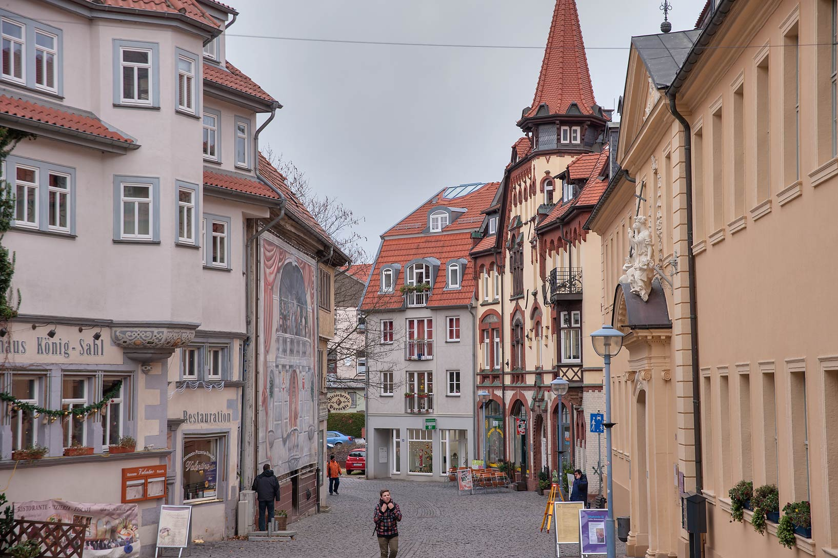 Eisenach Gotha, Germany  - Street of Old City. Gotha, Germany