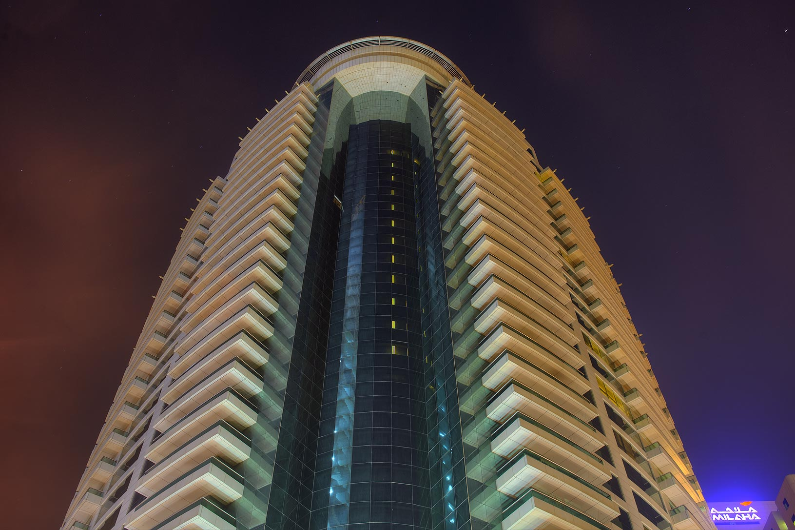 Beverly Hill Tower in West Bay. Doha, Qatar