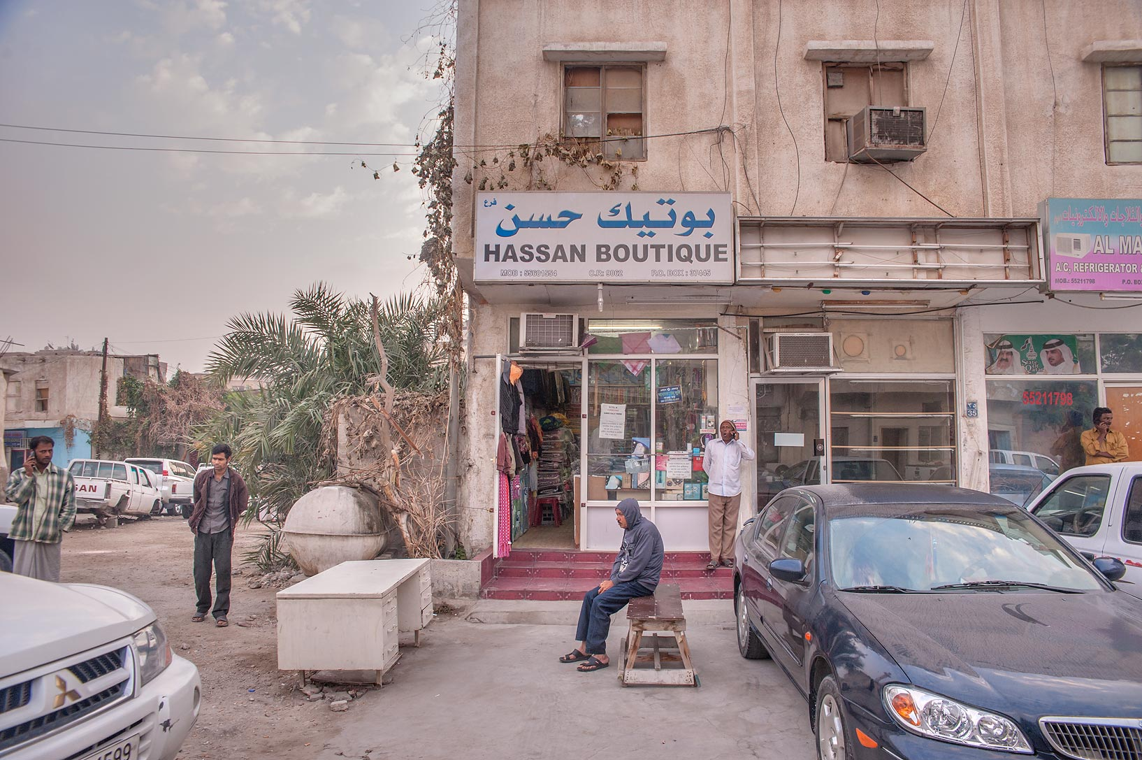 Hassan Boutique on Umm Wishad St. in Musheirib neighborhood. Doha, Qatar