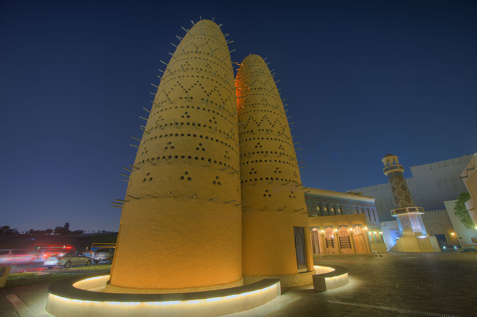 Pigeon house (dovecot) in Katara Cultural Village. Doha, Qatar