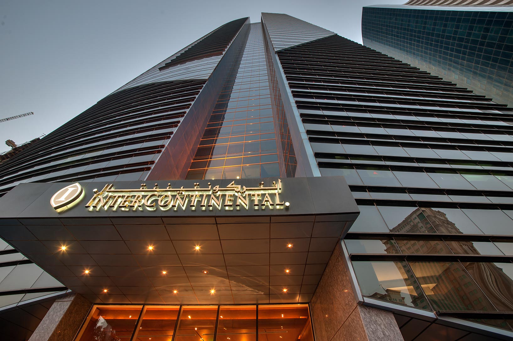 Intercontinental City Hotel in West Bay. Doha, Qatar