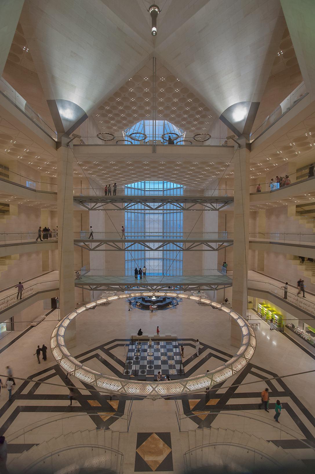 photo 140607 interior of museum of islamic art doha qatar