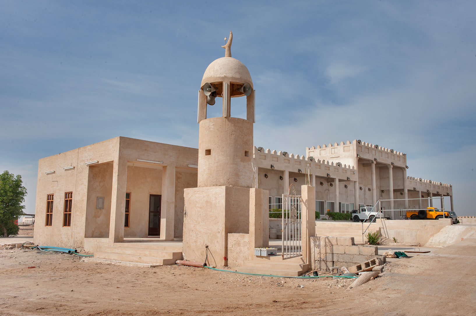 Small mosque of Abu Sidra in north-western Qatar