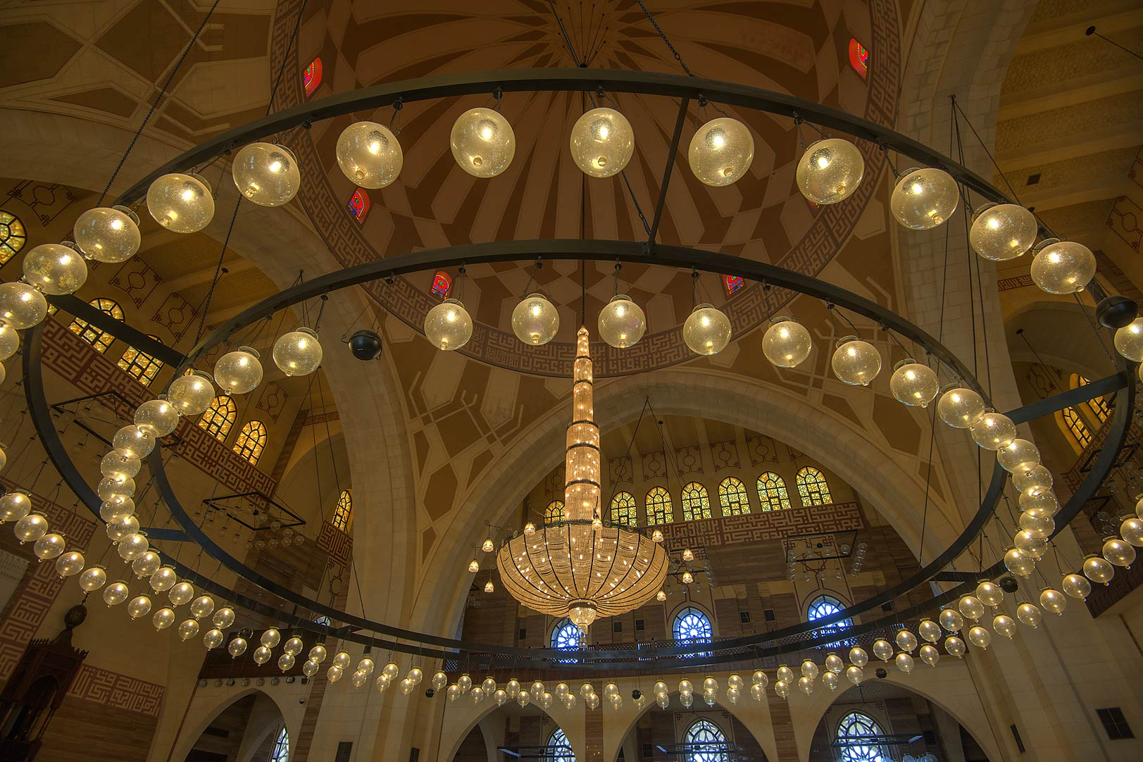 Photo 1543 02 Fiberglass Dome Of Ahmed Al Fateh Mosque
