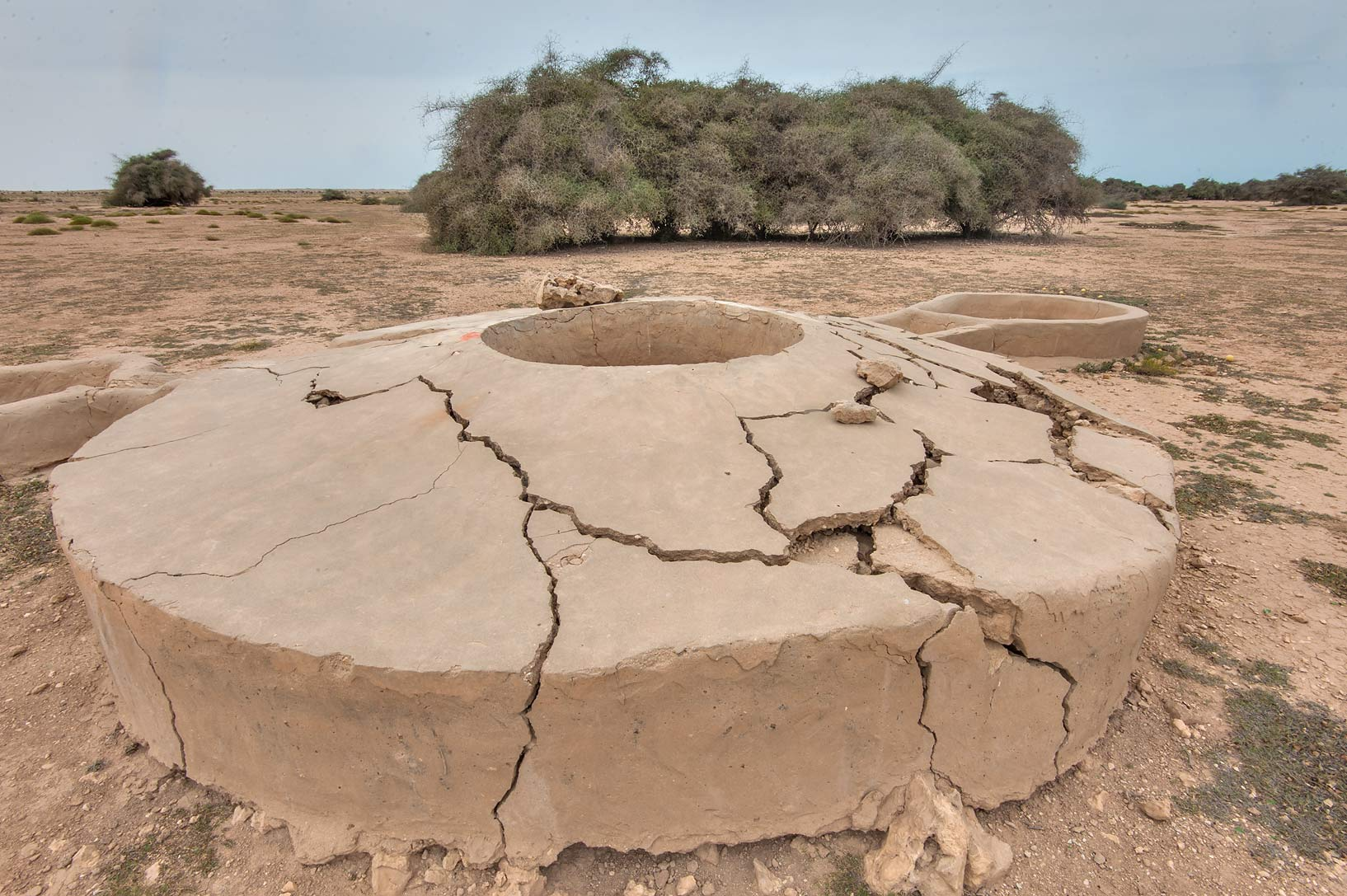 Ain Numan water well in Al Nuaman (Naim tribe, Nuaimiya). Northern Qatar