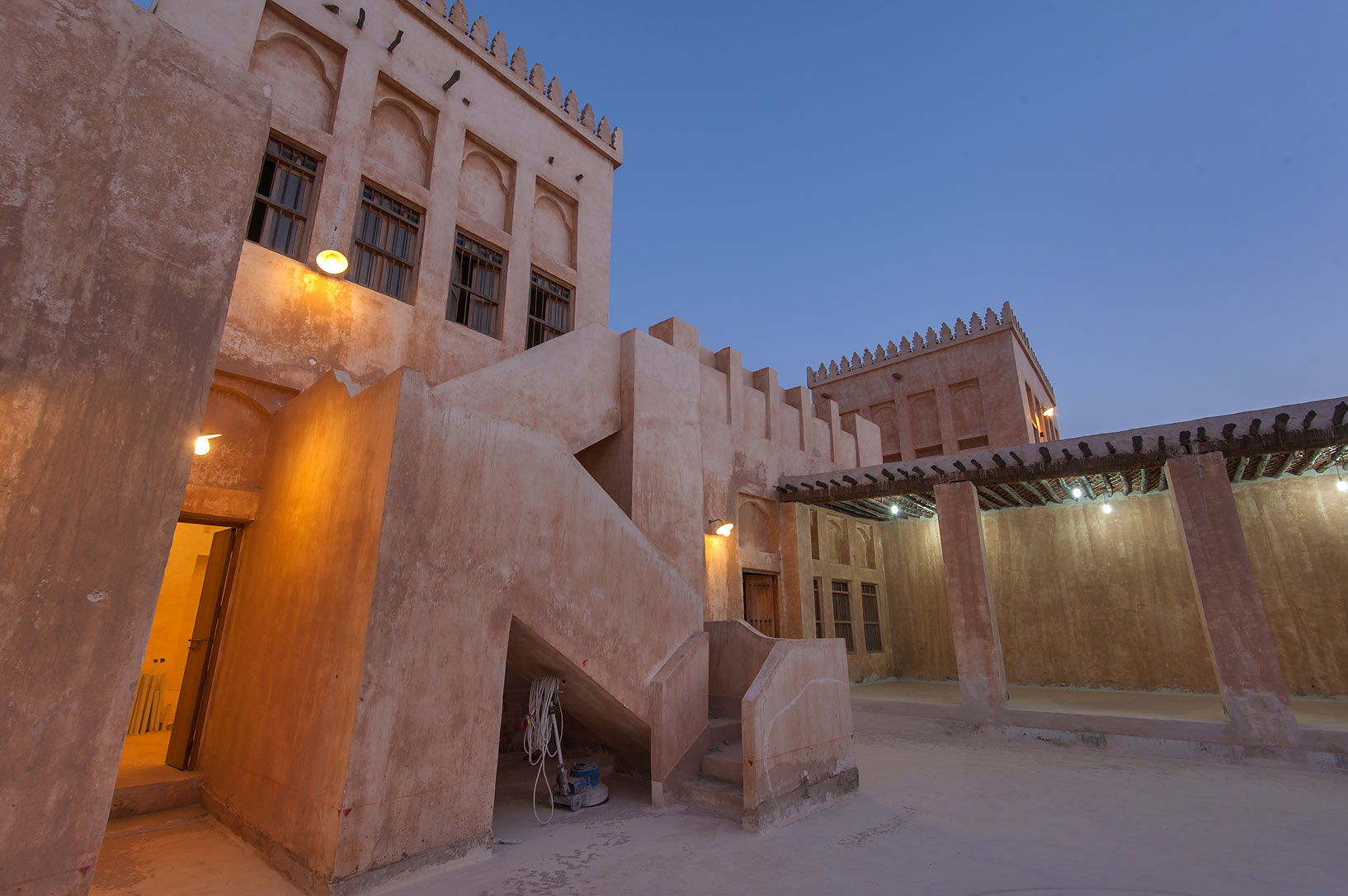 Some backyard in Al Wakra Heritage Village (Souq Waqif in Al Wakrah). Qatar