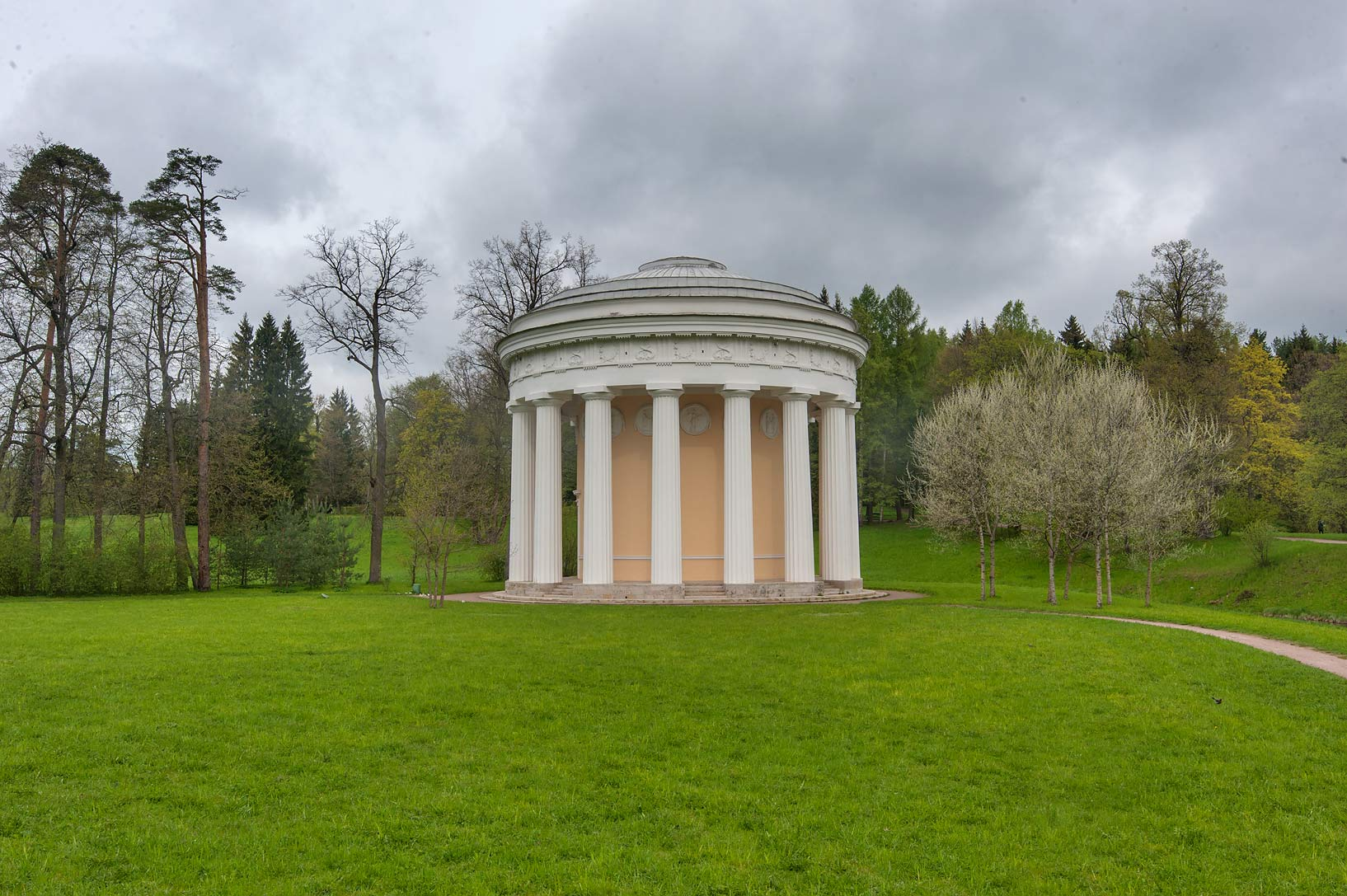 Friendship Temple (Khram Druzhby) in Pavlovsk...suburb of St.Petersburg, Russia
