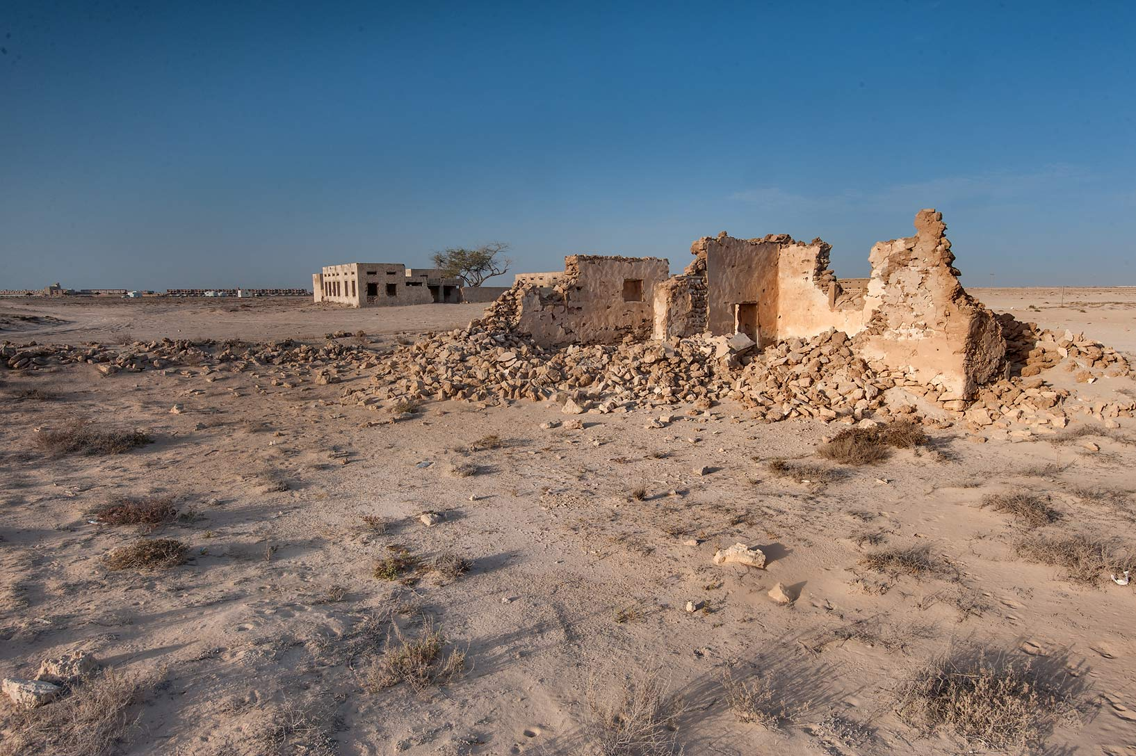 Girl Mawas House in old fishing village (ghost...eastern coast, Ash Shamal area. Qatar