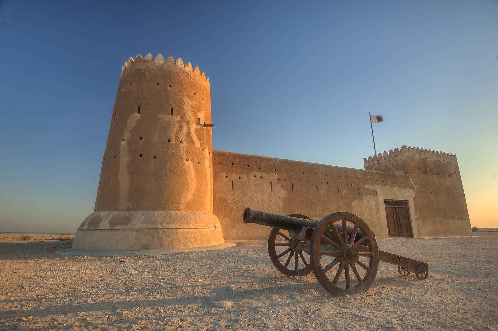 Zubara Fort in northern area (Shamal). Qatar