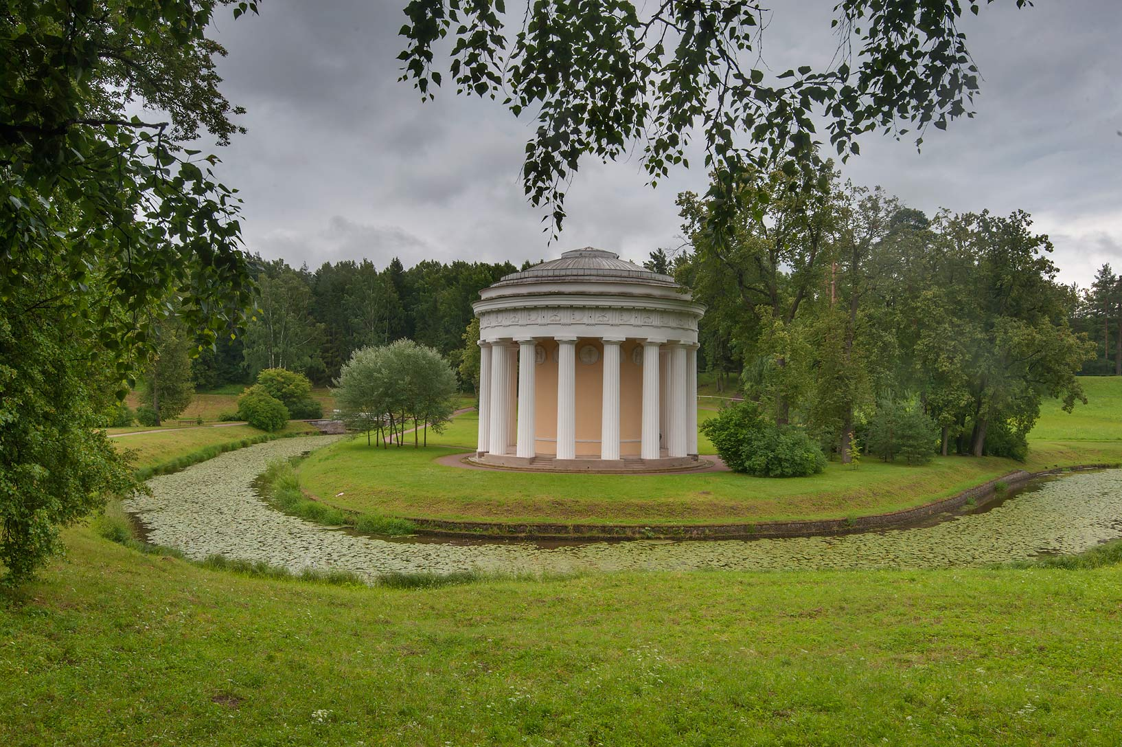 Friendship Temple (Khram Druzhby) in Pavlovsk...a suburb of St.Petersburg, Russia