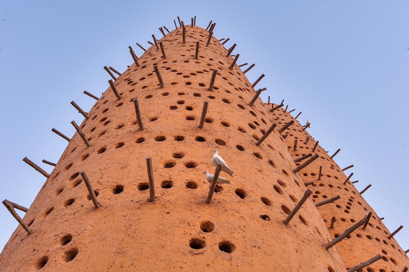 Dovecote (house for pigeons) in Katara Cultural Village. Doha, Qatar