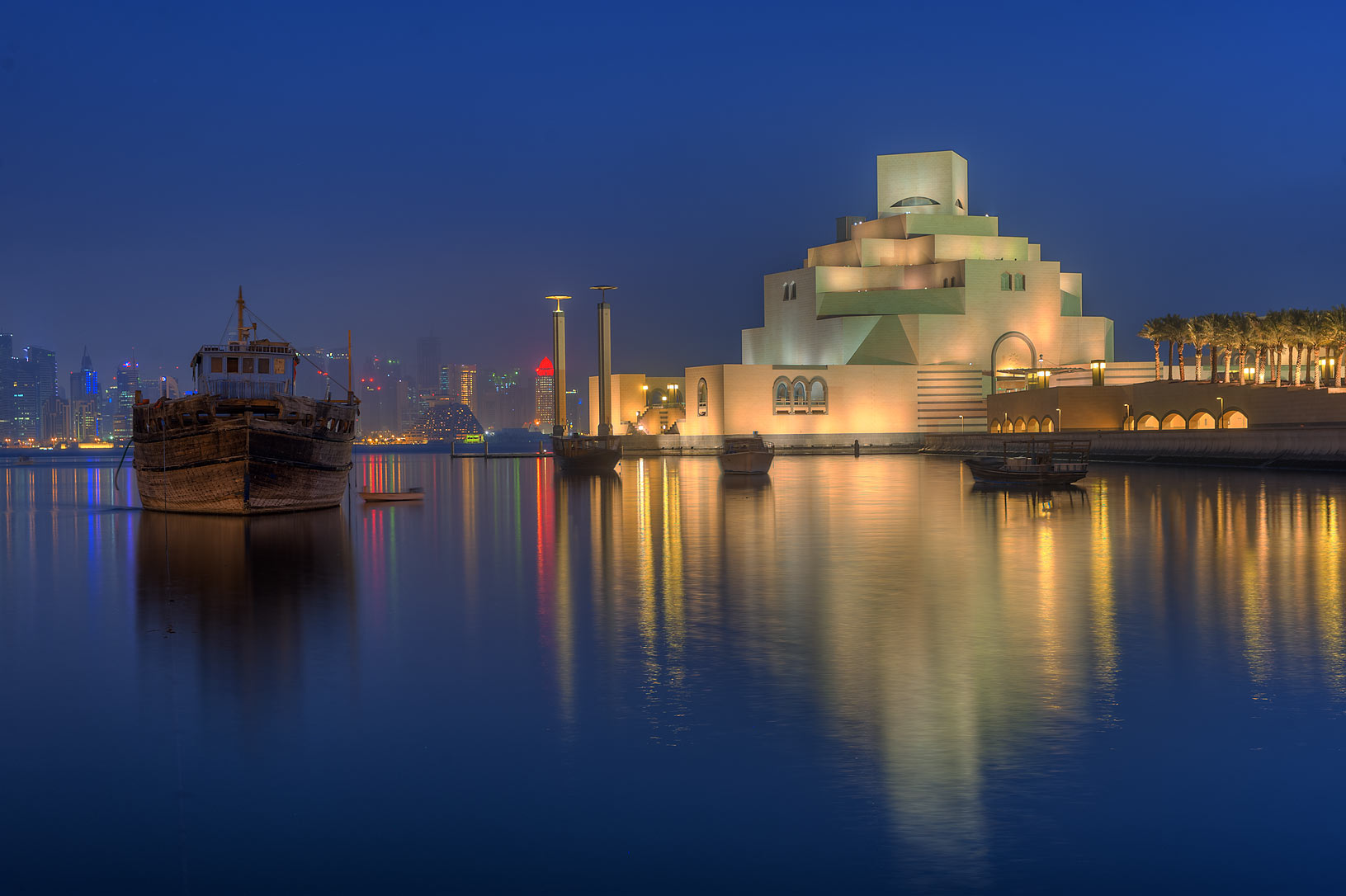photo 164213 museum of islamic art at morning view from