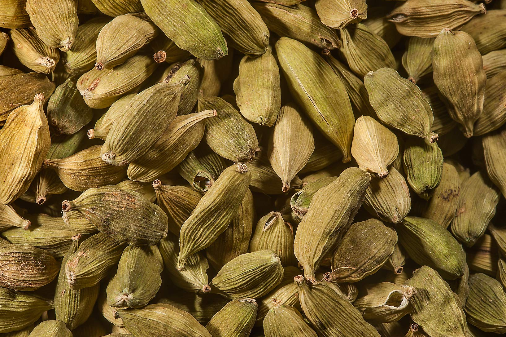 Cardamom seeds in spice section in Souq Waqif (Old Market). Doha, Qatar
