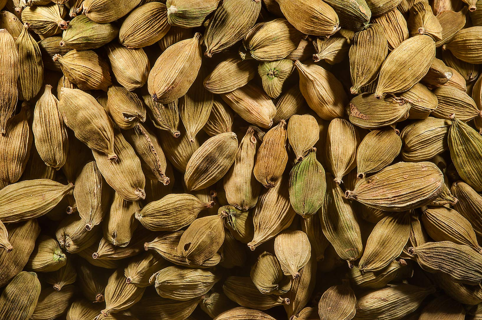 Cardamom in spice section in Souq Waqif (Old Market). Doha, Qatar