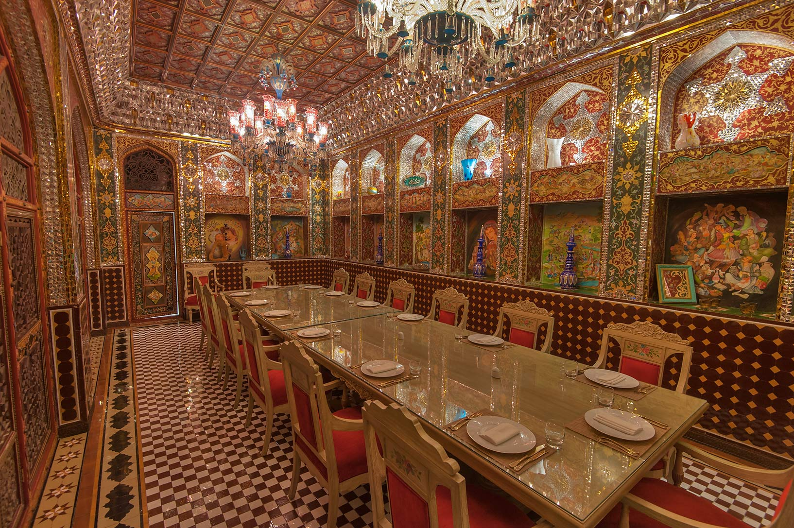 Photo 1650 06 Emir S Quot Dining Room In Isfahan Gardens