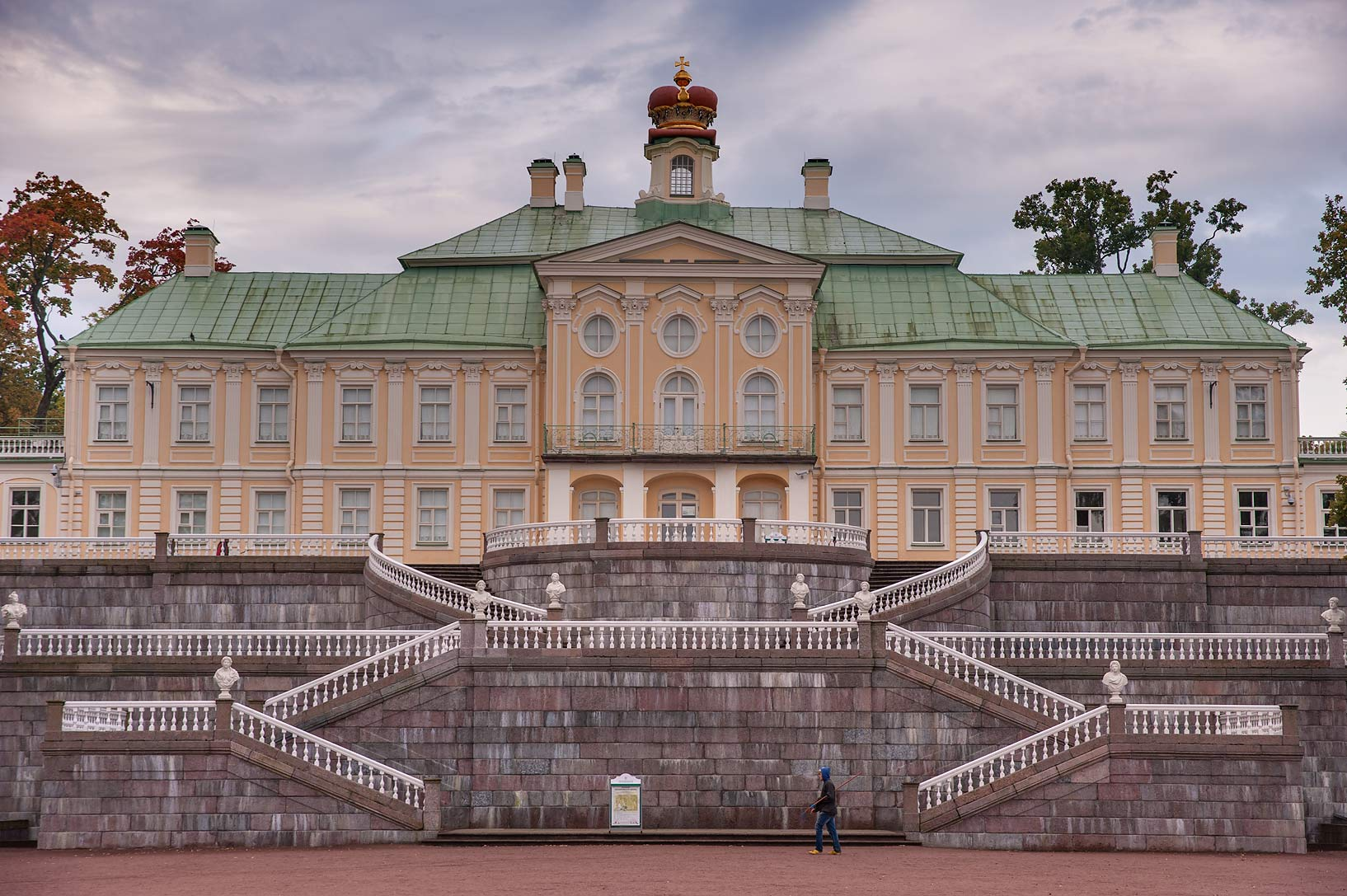 The Great (Menshikov's) Palace. Oranienbaum (Lomonosov), a suburb of St.Petersburg, Russia