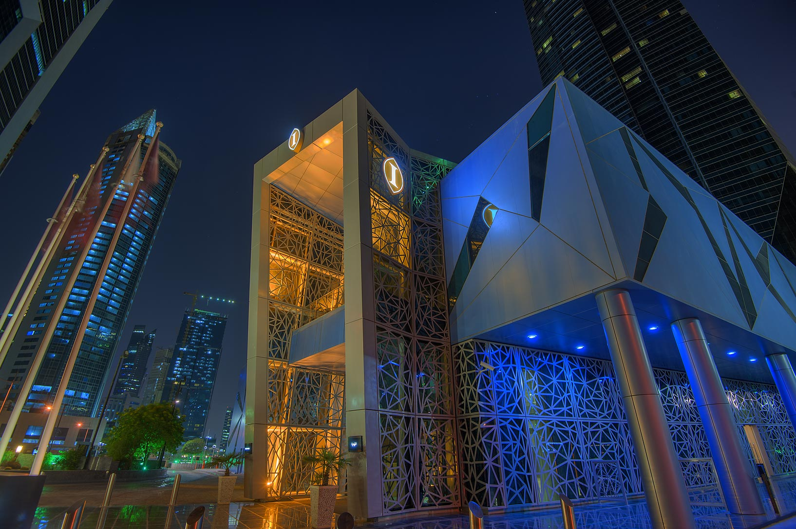 Intercontinental Hotel in West Bay. Doha, Qatar