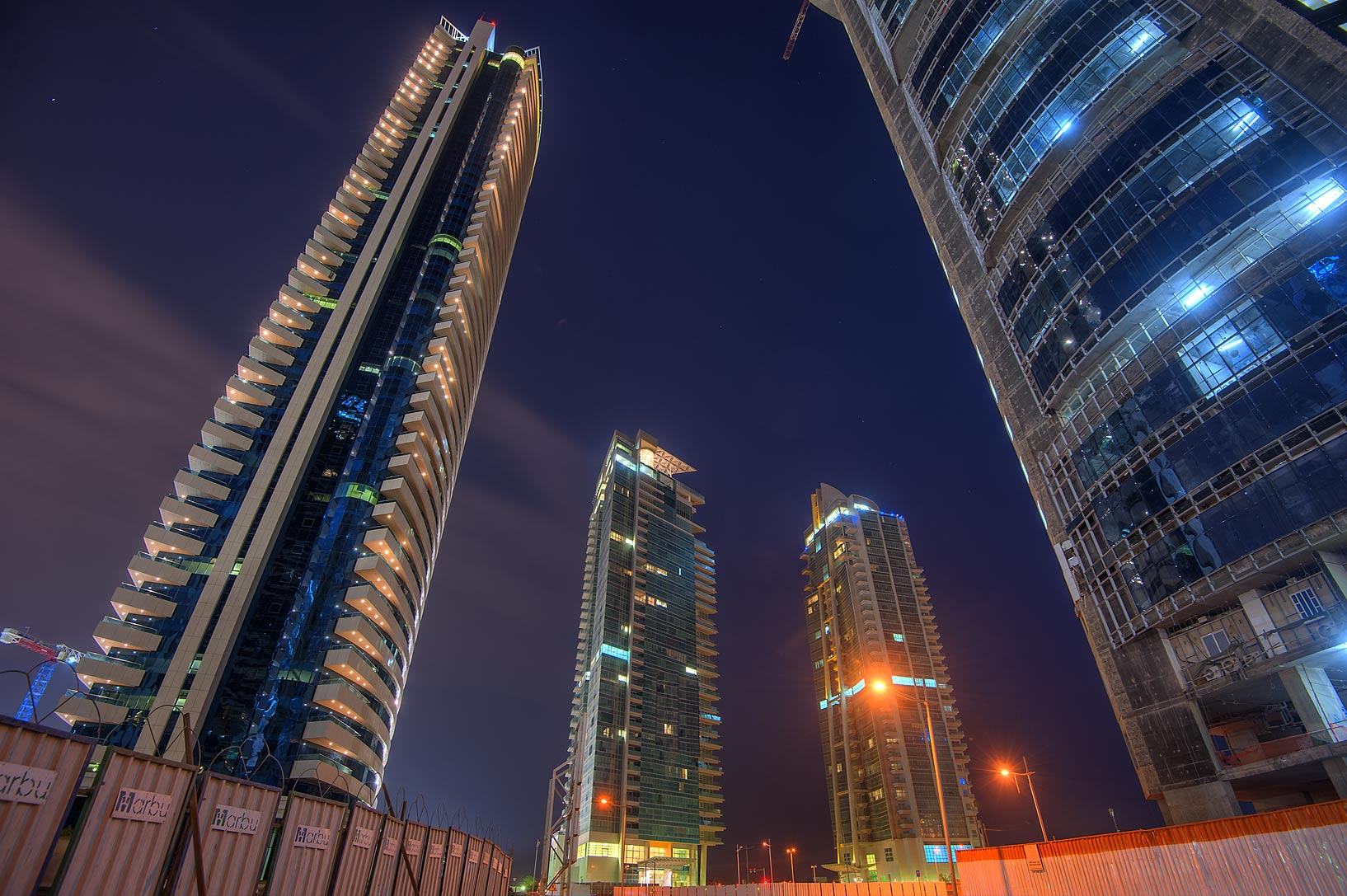 Area of 44 West Bay Tower in West Bay. Doha, Qatar