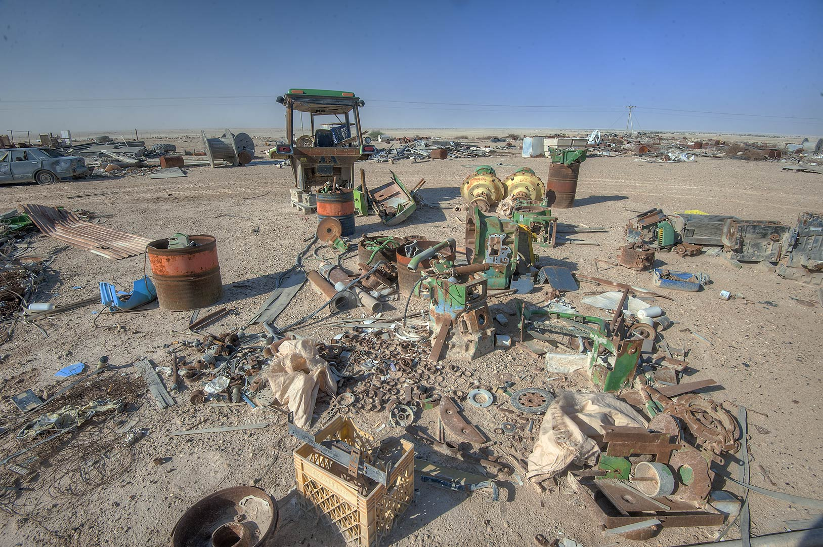 Spare parts for agricultural equipment on Green...in Irkhaya (Irkaya) Farms. Qatar