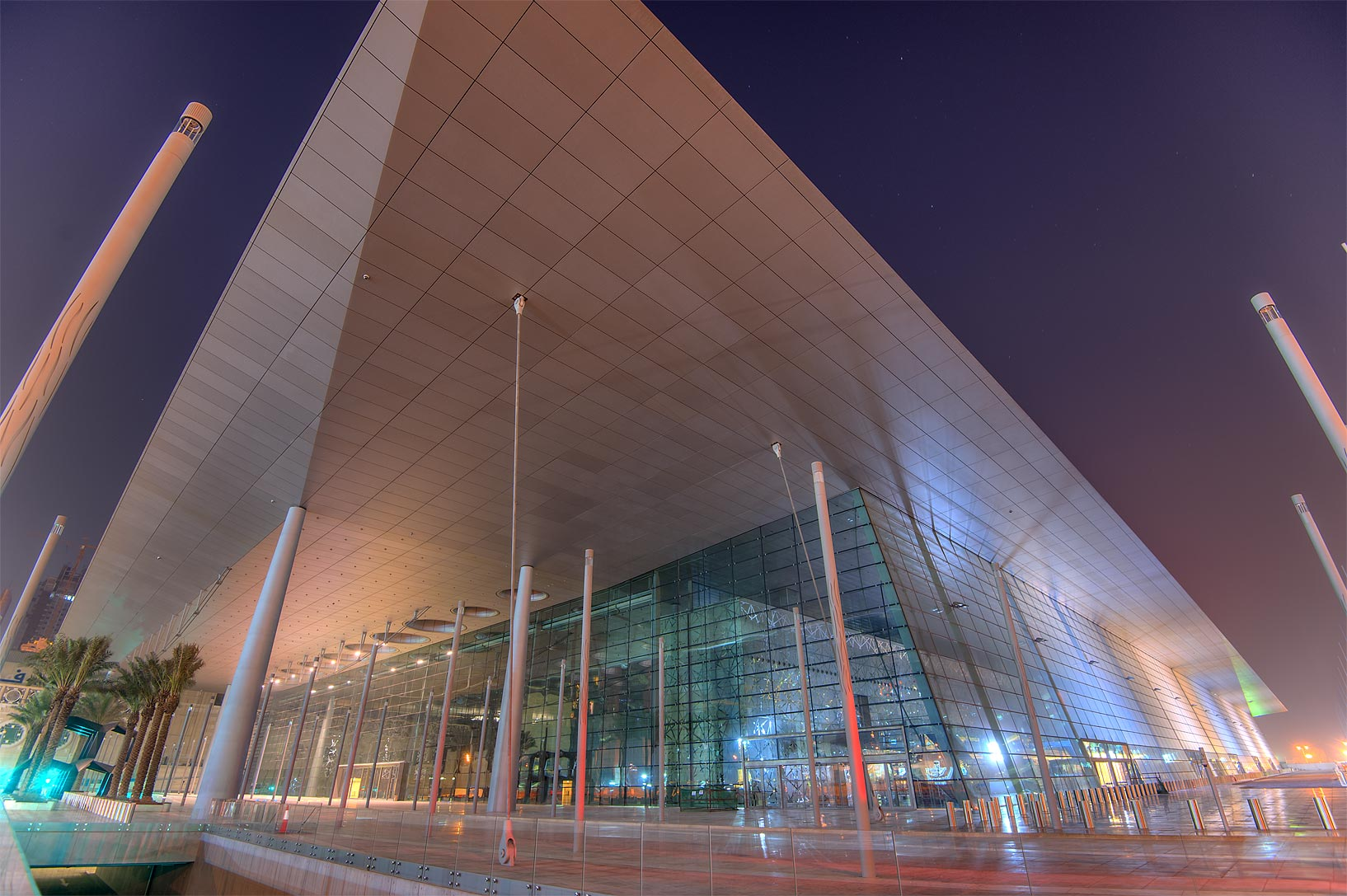 Exhibition and Convention Center (DECC) near City Center mall in West Bay. Doha, Qatar