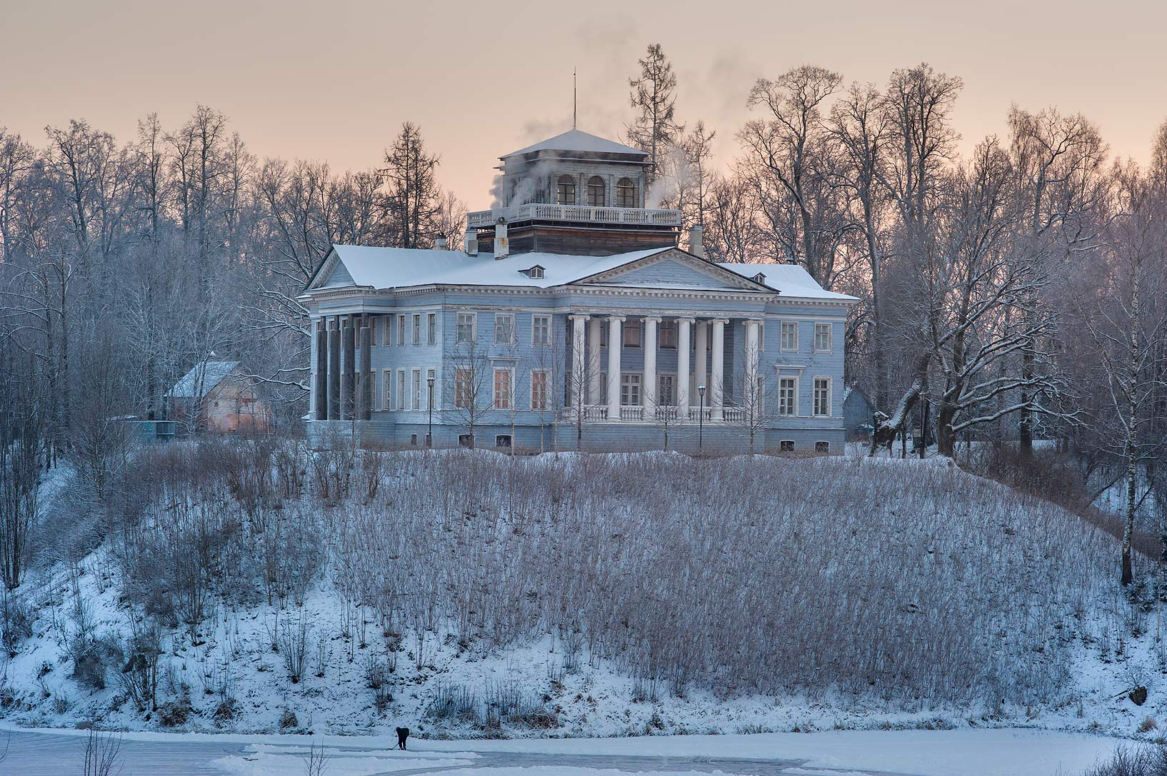 Nabokov museum in Rozhdestveno Village. Gatchina District of Leningrad Region, Russia