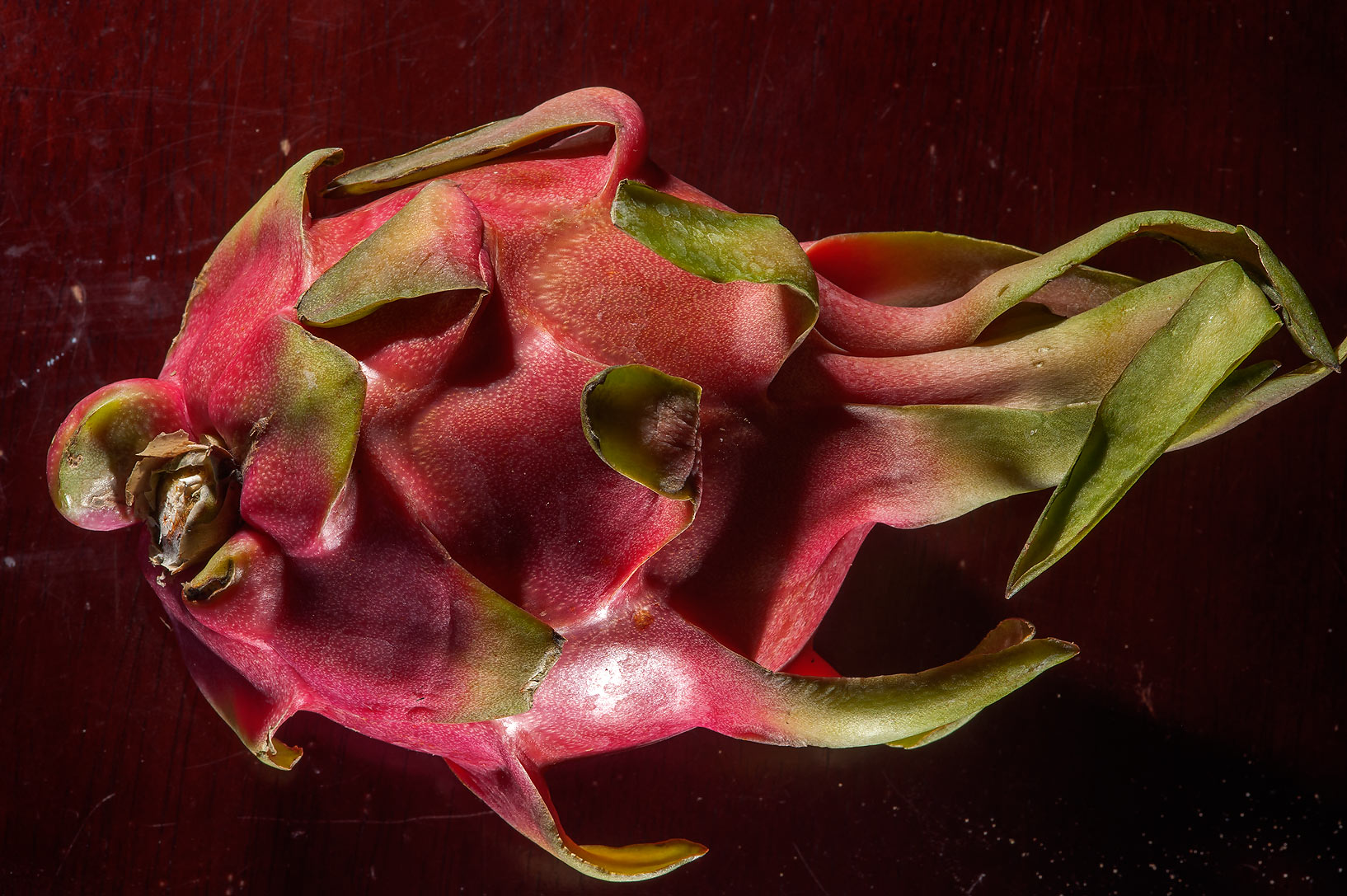 Pitaya (Dragon fruit) from Carrefour supermarket. Doha, Qatar