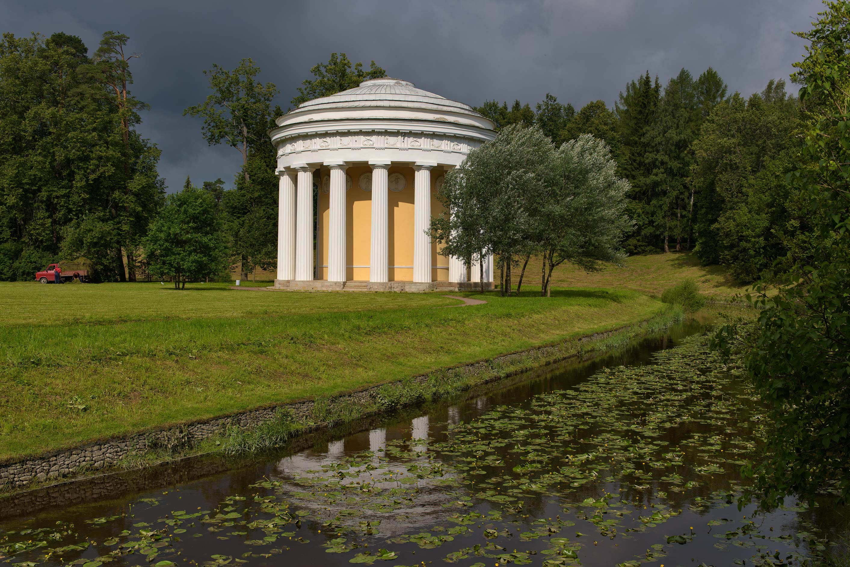 Khram Druzhby (Friendship Temple) in valley of...a suburb of St.Petersburg, Russia