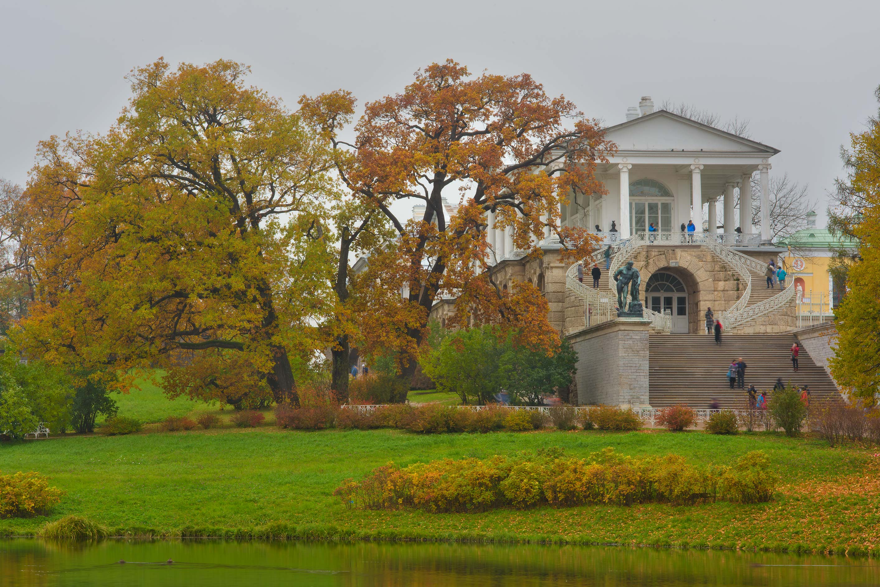 Cameron Gallery in Catherine Park. Pushkin...Selo) near St.Petersburg, Russia