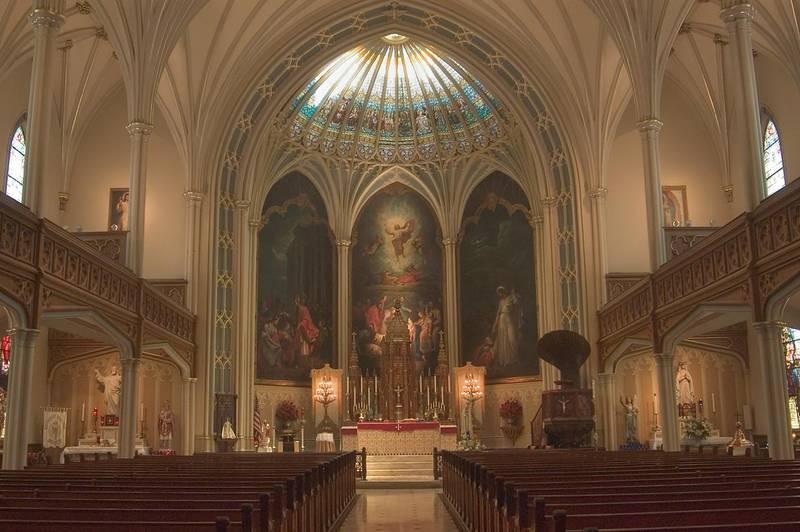 Slideshow 449 19 Interior Of St Patrick S Roman Catholic