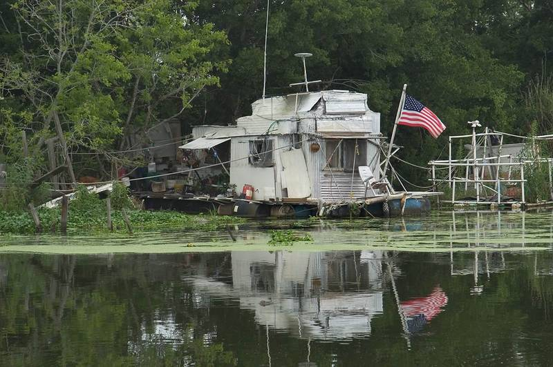 Slideshow 455 04 A Fishing Shack In Bayou Grand Caillou