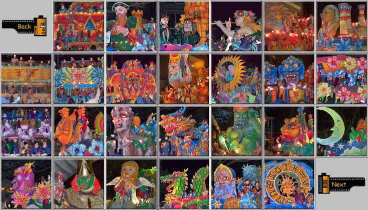 mardi gras new orleans parade floats krewe endymion charles avenue - Mardi