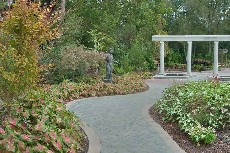 Slideshow 1111 26 Paved Path In Mercer Arboretum And