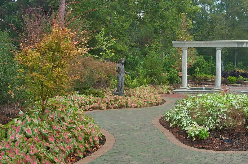 Slideshow 1112 15 Paved Path In Mercer Arboretum And