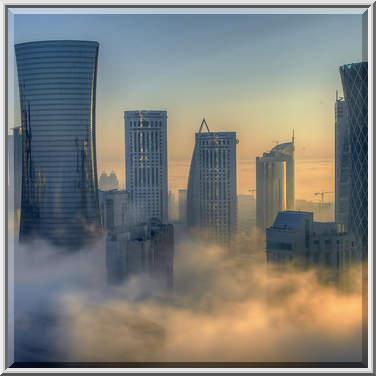 Foggy room